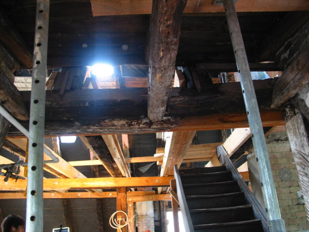 Sanierungs und Bestandsbauarbeiten durchgeführt durch das Ingenieurbüro Igelspacher